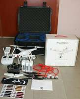 Used DJI Phantom 3 Professional Drone with accessories