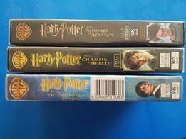 Harry Potter VHS Tapes