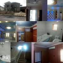 Standard 4bedroom duplex for sale 140m