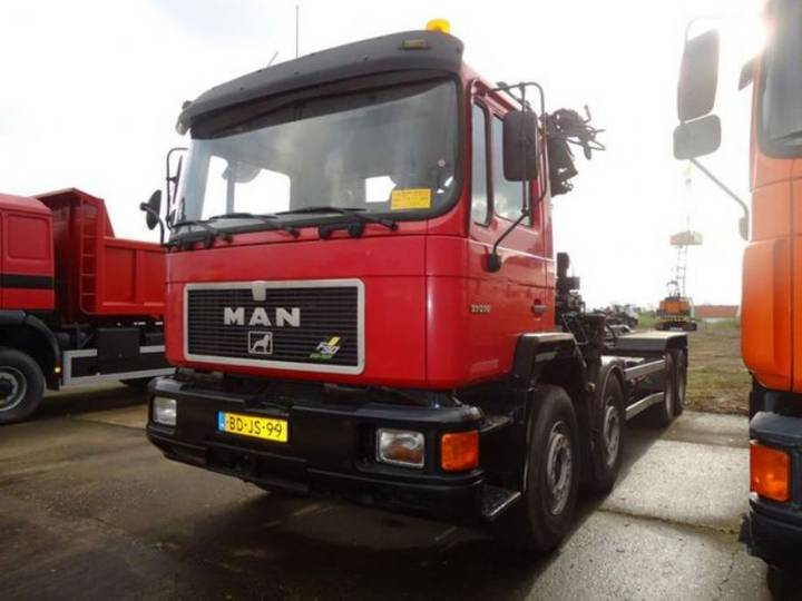 MAN 37.372 8x4 Hiab195 - 1996