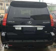 lexus GX470 07 full option super clean tinkan cleared accdent free