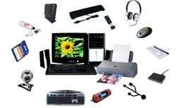 Computer repair, maintenance and sales of accessories