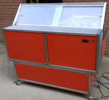 Meat display chiller