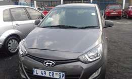 Hyundai i20 1.4 Model 2013 5 Door Colour Grey Factory A/C & CD Player