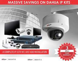 Dahua IP CCTV Kits 3 Year Guarantee 4 8 or 16CH