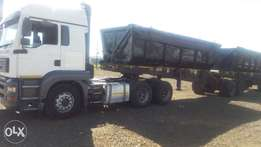 34 Ton top interlink trailer for urgent sale