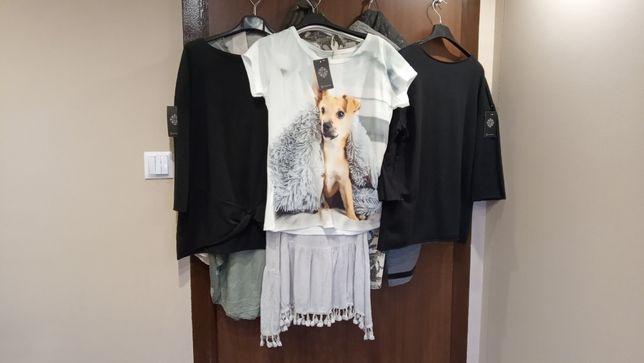 Sprzedam damskie ubrania: spodnie, sukienki, bluzki,