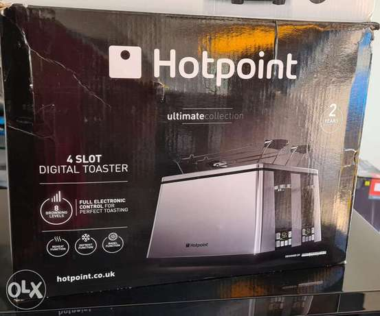 Hotpoint Ultimate Collection 4 Slot Toaster