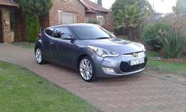 LOW MILEAGE! Hyundai Veloster R129000