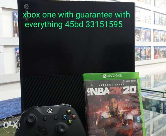 xbox one with gaurantee
