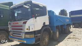 Scania P380 Double Steering Tipper
