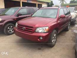 Toks 2004 Highlander Super clean
