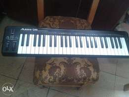 Alexis Q49 midi/usb keyboard controller for sale