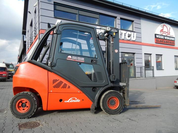 Linde H25D Duplex , side shift - 2011