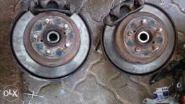 Subaru forester rear complete hub