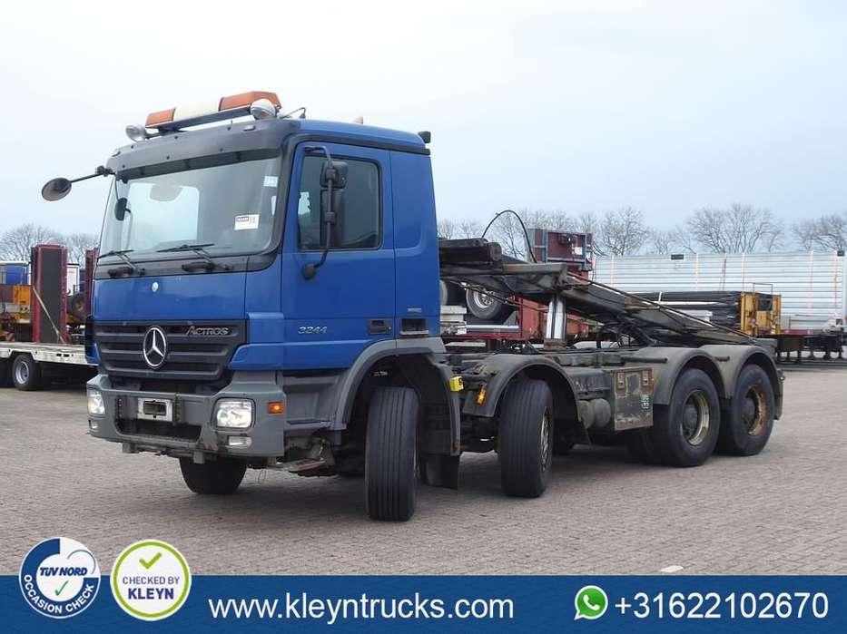 Mercedes-Benz ACTROS 3244 8x4 full steel eps - 2007