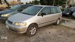 Registered 7-Seater 1999 Honda Odyssey With Auto Fabric Cold AC Alloy