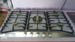 Inbuilt 5burner Gas Cooker