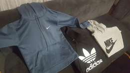 Various nike and adidas hoodies mens and ladies