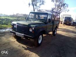 The land rover 110 Defender TDI(Formerly owned by KWS)