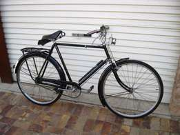 Antique 1955 Raleigh The All Steel Bicycle,