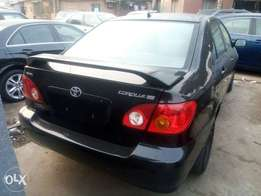 Clean Tokunbo Toyota Corolla 2004