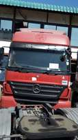 Mercedes Benz AXOR 2543 Semi Automatic Gearbox Red Colour