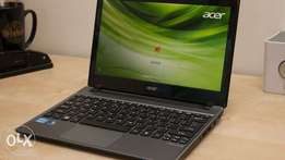 V5 atom acer 12 inch slim HDMI 2gb 320gb win 7 one year warranty. 13k.