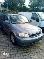 2006 kia carnival full option leather seat