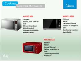 10% discount on brand new Microwave ovens