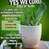 Yes we cure (even 30years) staphylococcus