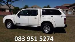 Mazda BT 50 3lt turbo diesel double cab RCW