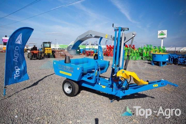 Metal-Fach Bale Wrapper Z237 Blue Line - 2019