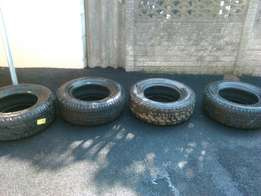 Goodyear wranglers and Bridgestone van tires 245/70/16 I