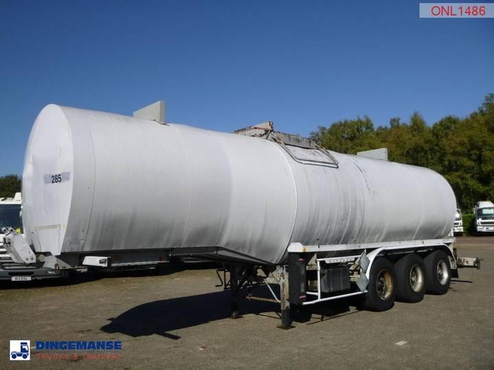 Netam-Fruehauf Bitumen tank steel 31 m3 / 1 comp - 1993