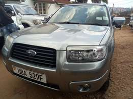 A Subaru Forester, 2007model on sale