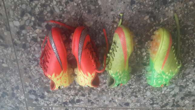 Uk used twin football boots seize 36 Ibadan South West - image 1