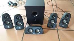 logitek 5.1 speakers