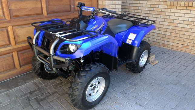 Yamaha Grizzly 660 utility quad,As New condition.Only 1750kms. Centurion - image 4