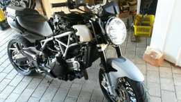 Unfinished Project Aprilia 850cc 2013