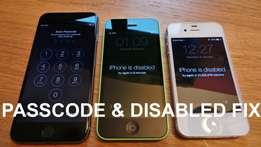 Unlock All Disabled iPhone , iPad and iPods
