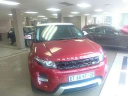 Range Rover Evoque limited edition R699999