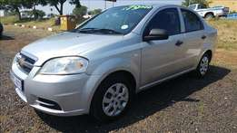 Chevrolet Aveo 1.6 Very neat spacious with Finance options available.