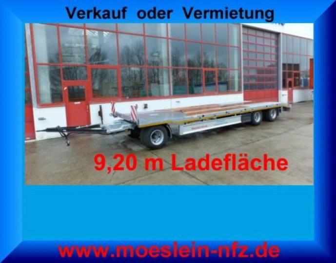 Möslein T 3-P9,2 OR 3 Achs Plato- Tieflader- Anhänger - 2019
