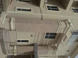 To Let:A tastefully finished 5 bdrm rserviced terrace dup at wuye a