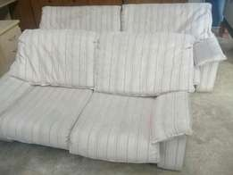 Couches, 3 and 2 seater