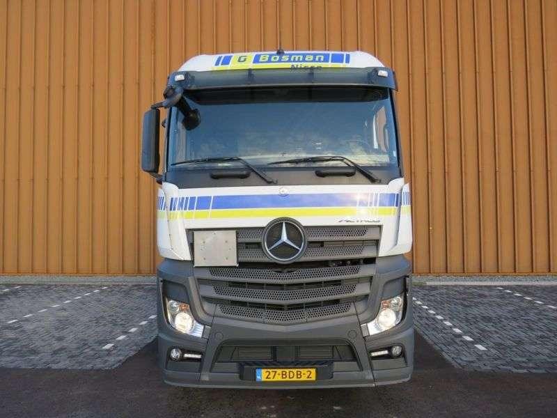 Mercedes-Benz Actros 1845 Bigspace Euro 6 mit hydraulick !!! - 2013 - image 9