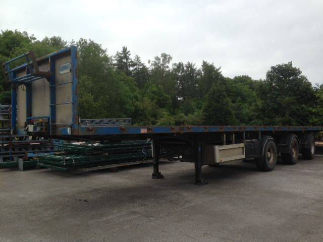 Pacton FLATBED 3 AXLES - 1997