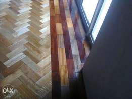 Wooden flooring parquet floors