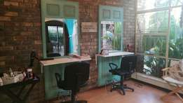 Salon workstations and counter for sale
